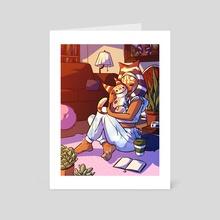 Cozy Ahsoka - Art Card by Christopher Aaron