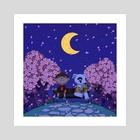 Animal Crossing - K.K Slider Concert - Art Print by Magalie Yang