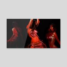 dancers - Acrylic by mohammad  javadi