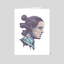 Rey - Art Card by wwowly