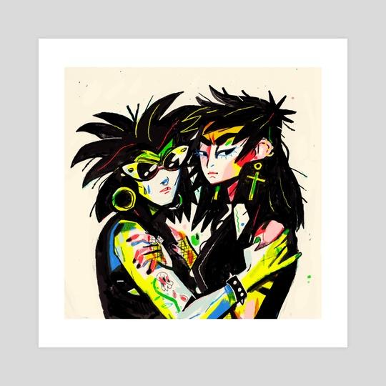 Goths by Kelsey Wroten