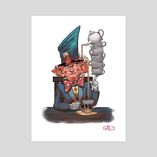 Mad Hatter by Mike Canas