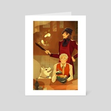 Ramen Everyday - Art Card by Britney Liu