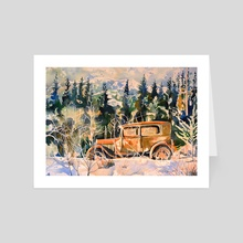 Road to Whistler - Art Card by Tim Bennison