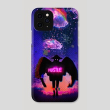 Hustle - Phone Case by Sky Frequencies