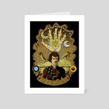 The Sleeper Awakens - Art Card by matthew sergison-main