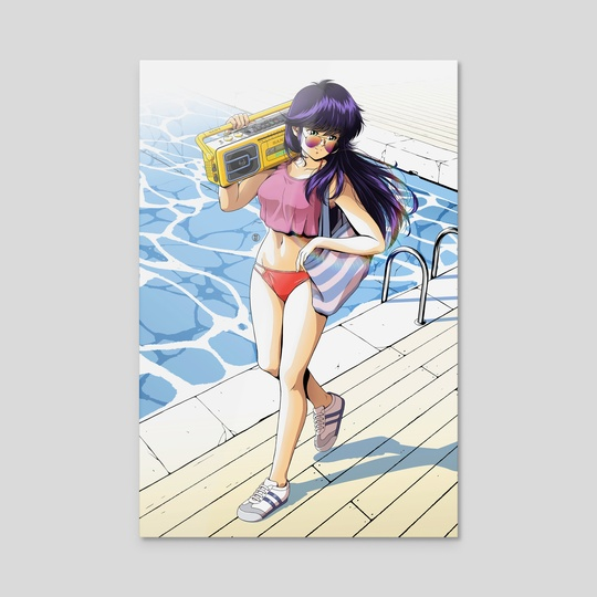 'Summer Mirage' Madoka Ayukawa #3 by Jose Salot