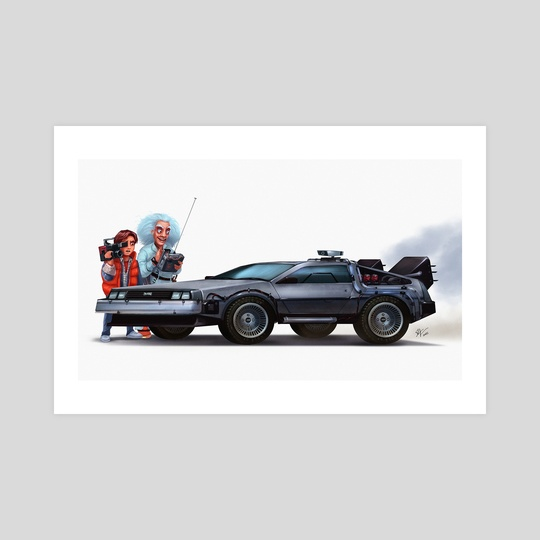 You made a time machine out of a Delorean? by Shaun Keenan