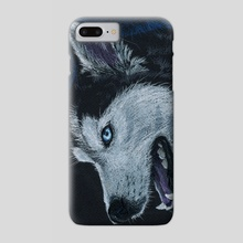 Husky - Phone Case by Kotenok Gaff
