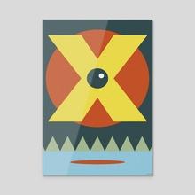 NIBIRU (PLANET X) - Acrylic by Laertis Art