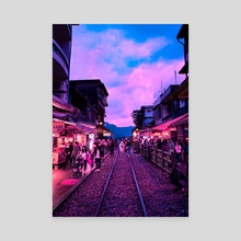 Jiufen, Ruifang District, New Taipei City, Taiwan - Canvas by H Designs
