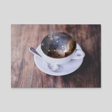 BUT FIRST COFFEE - Acrylic by Gloria Sánchez