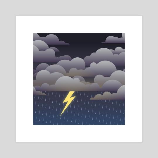 Vector Skies - Storm by Allison McGrath