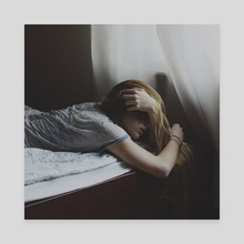 melancholy - Canvas by Paulina J. Kozłowska