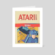 Tron - Art Card by Eniac Ninja