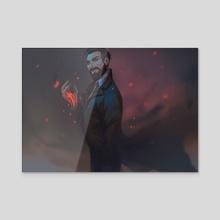 Dr. Reid - Acrylic by endrae