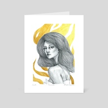 Fatale - Art Card by Marylou Deserson