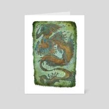 Sea Dragon - Art Card by Deniz Ündan