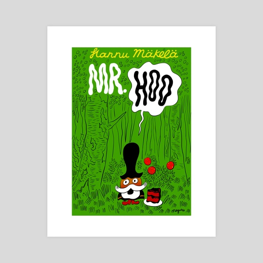 mr. hoo by George Mager