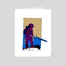 Orbiter - Art Card by Nate  Tazewell