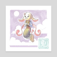 Chinese Zodiac - rabbit - Canvas by Yihyoung Li