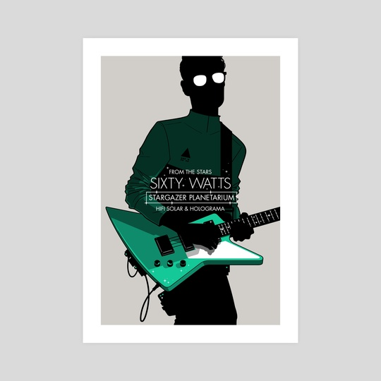 Sixty Watts - Stars by Gianmarco Magnani