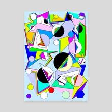 Jounce - Canvas by Alberto Carlos  Montana  © ( ͡° ʖ̯ ͡°)