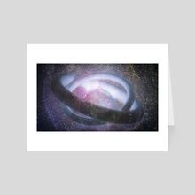 contact - Art Card by drewmadestuff