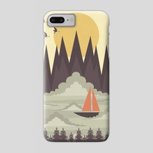 Over the Clouds - Phone Case by Illusorium