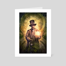 Time Roads - Art Card by Dominick Saponaro