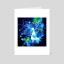 Luminous - Art Card by koyamori