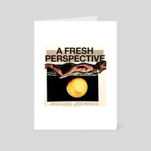 Perspective - Art Card by Rachel Wyrick