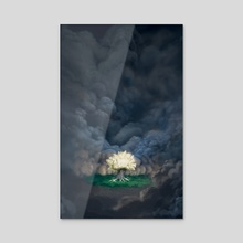 Tree of Life - Acrylic by Nicholas Greenwood