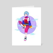 Rei Ayanami - Art Card by Tonakai