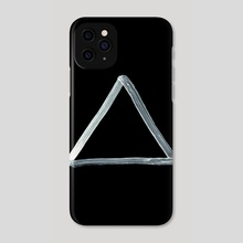 Alchemical Symbols - Fire Inverted - Phone Case by Wetdryvac WDV