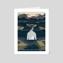 Hollow - Art Card by Reno Nogaj
