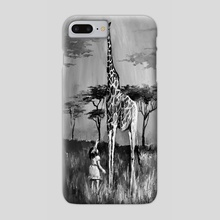 Reaching for happiness - Phone Case by Agata Buczek