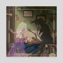Victoria et Dieu - Canvas by Sam_Artworks
