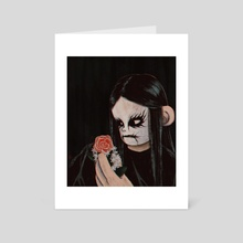 Lost in Absence - Art Card by Nowhere Ross