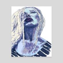 Joseline - Canvas by Vin Ganapathy