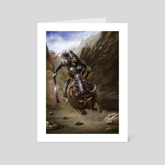 Goblin Con Hasto  by Michael  Bakker