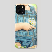 First bouquet for Mom - Phone Case by Aurelia Chaintreuil