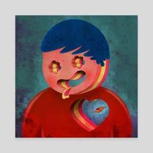 Im not Tony - Canvas by moondayy