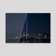 9/11 memorial - Acrylic by Anthony Retournard