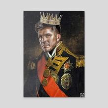 The King of cringe - Acrylic by Danilo Almeida