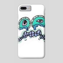 Sadness - Phone Case by Solar Broccoli