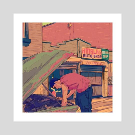 Automechanic by Amalas Rosa