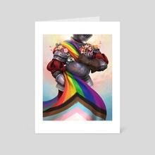 Pride Knight 2 - Art Card by Galactic Jonah