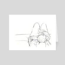 Antoine sketch 1  - Art Card by Juliette GUENARD
