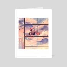 Kiki - Art Card by Beanynne